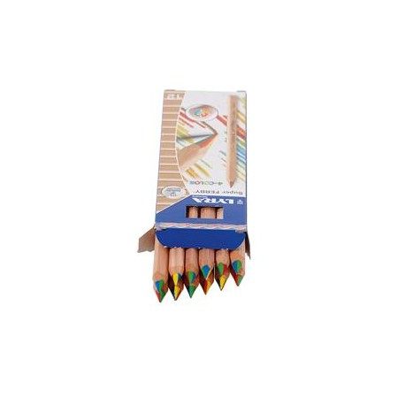 Lyra Color Giants 4-Color - 12 pencils (4 colours in 1)