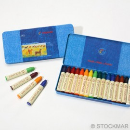 Stockmar Wax Crayons - 16 colours